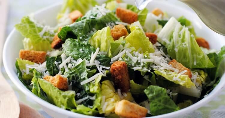 Настоящий салат «Цезарь». Самый верный рецепт!