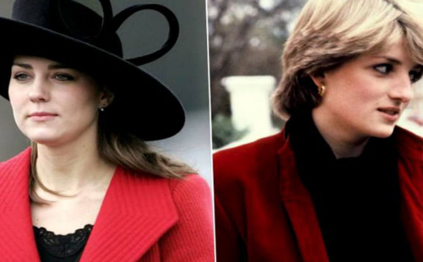 Что общего между Кейт Миддлтон и принцессой Дианой?