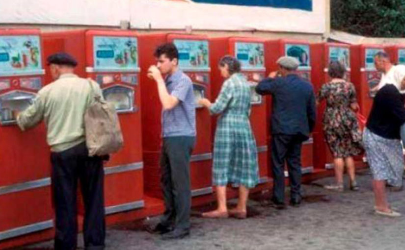 Газированная вода с автоматов в СССР не привела к эпидемиям —  парадокс.